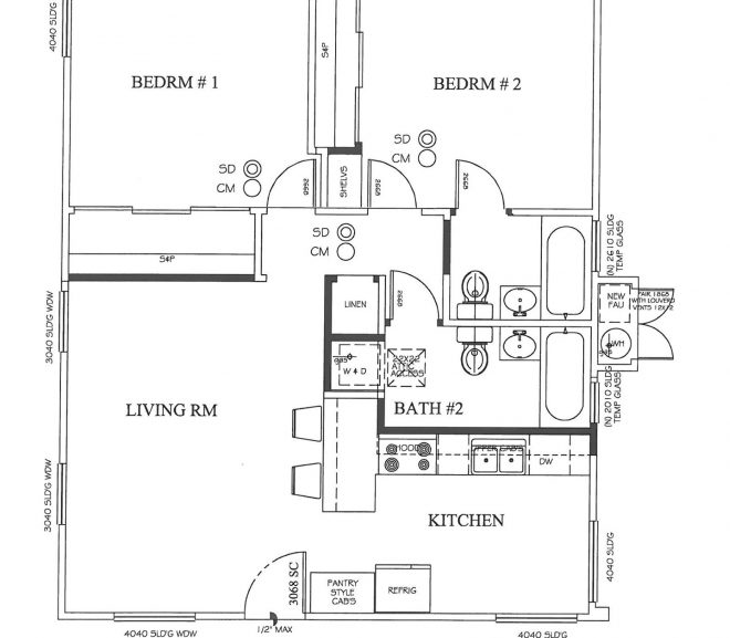 Case Study:  1910 house Existing House- Renovate and add one Bathroom!!